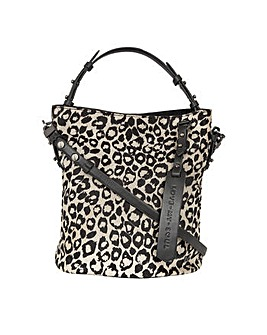 Love My Soul Sienna Hairon Bucket Bag