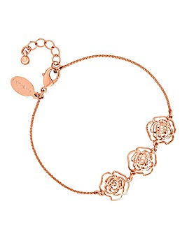 Jon Richard Crystal Rose Bracelet