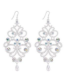 Mood Oversized Pearl Chandelier Earring