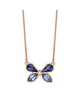 Jon Richard Swarovski Butterfly Necklace