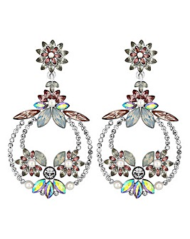 Mood Pastel Crystal Statement Earring