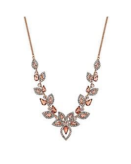 Jon Richard Crystal Floral Necklace