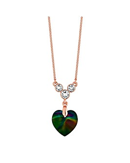 Jon Richard Swarovski Heart Necklace