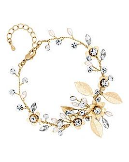 Alan Hannah Crystal Vine Bracelet