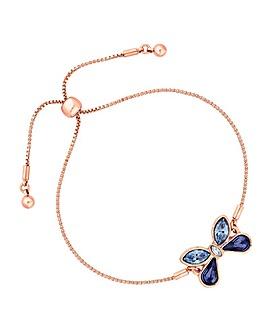 Jon Richard Swarovski Butterfly Bracelet