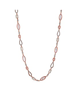 Jon Richard Opalesque Toggle Necklace