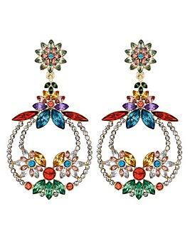Mood Crystal Statement Earring