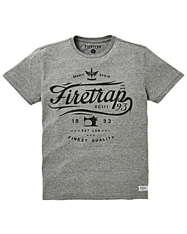 Firetrap Francisco T-Shirt Long