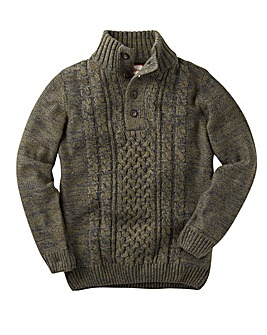 Joe Browns Fabulous Funnel Knit Jumper