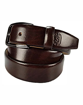 Souled Out Brown Formal Belt
