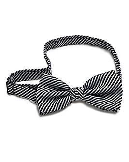 Kensington Stripe Bow Tie