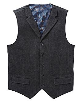 Black Label Herringbone Waistcoat R