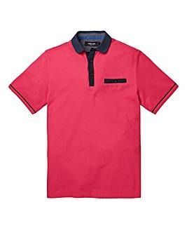 Black Label Hove Pique Polo Shirt R