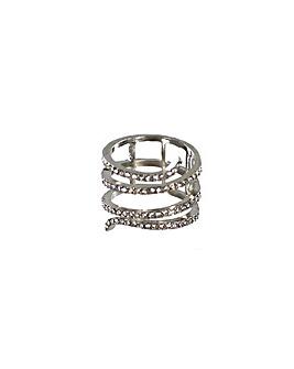 Lizzie Lee Diamante Encrusted Ring