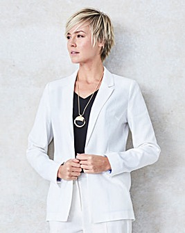 Tailored Linen Jacket