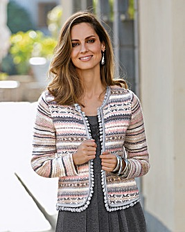 Together Stripe Cardigan