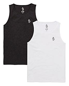 Luke Sport Pack of 2 Vests