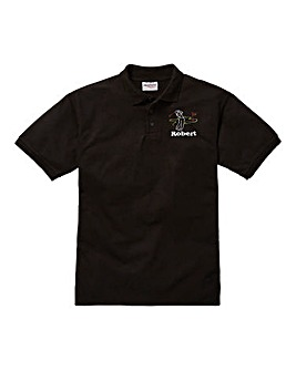Personalised Golf Polo Shirt