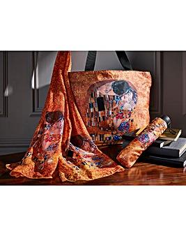 Klimt Artist bag, Brolly and Scarf Set