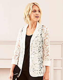 Unlined Lace Jacket