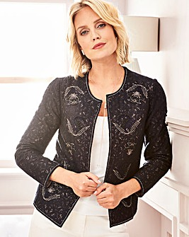 Lace Embellished Jacket