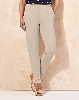 Stretch Jersey Harem Trouser Short
