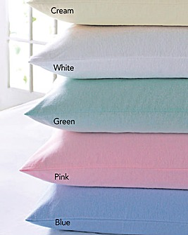 Flannelette Pillowcase Pair