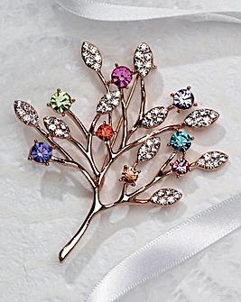 Tree Of Life Brooch