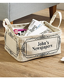 Broadsheet Newspaper Caddy