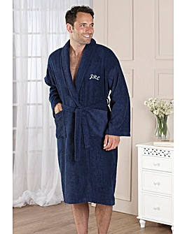 Gents Dressing Gown Personalised