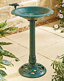 Large Sculptural Bird Bath