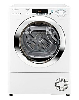 Candy 9kg Heat Pump Dryer White/Chrome