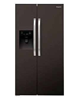 Hotpoint American Side By Side Black