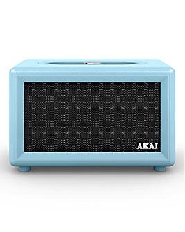Akai Retro BT Speaker Blue