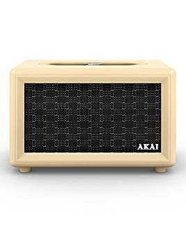 Akai Retro BT Speaker Cream