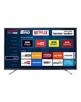 Sharp 49in UHD Smart TV