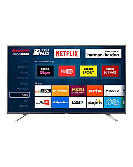 Sharp 55in UHD Smart TV