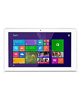 10in 16Gb Tablet Rose Gold/White