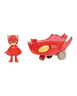 PJ Masks Vehicle & Figure Owlette Flyer
