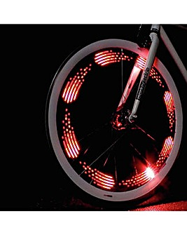 MonkeyLectric 80 Lumens Wheel Bike Light