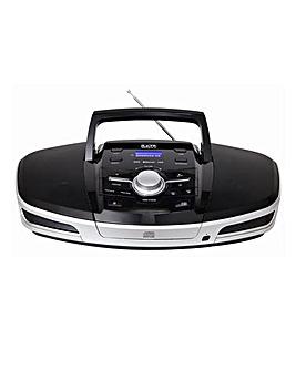 CD MP3 USB Bluetooth Player - Black