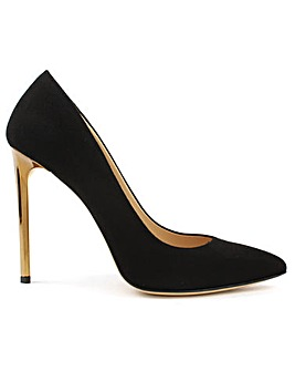 Daniel Meredith Gold Heel Court Shoes