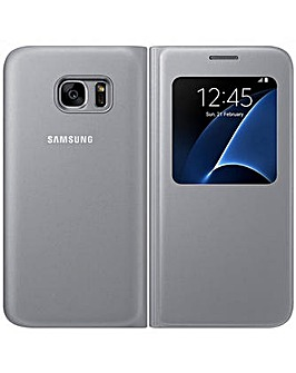 Samsung Galaxy S7 S View Cover Silver