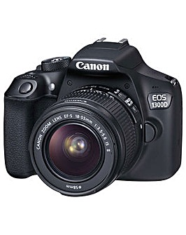 Canon EOS 1300D SLR Camera 18-55 IS lens