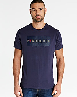 Fenchurch Builder Print T-Shirt Long
