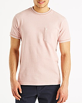 Fenchurch Birdseye T-Shirt Long