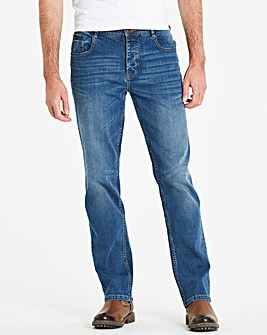 Joe Browns Easy Days Jean Dk Wash 33 In