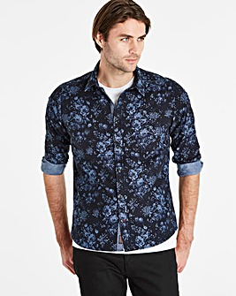 Joe Browns Midnight Floral Shirt Long