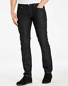 Lee Daren Zip Bright Blue Jean 30 In