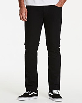 Lee Luke Black Jean 32 In